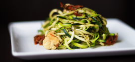Today's Lean Lunch: Zucchini Noodles